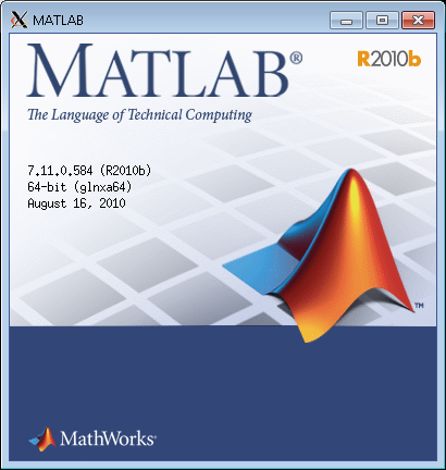 matlab window after typing matlab into command prompt