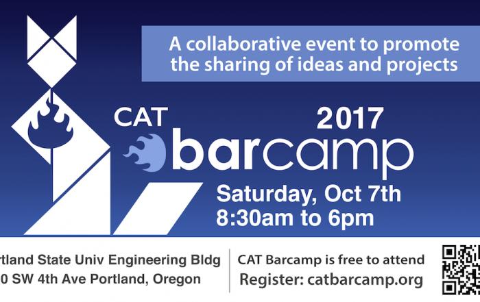 2017 cat barcamp poster image