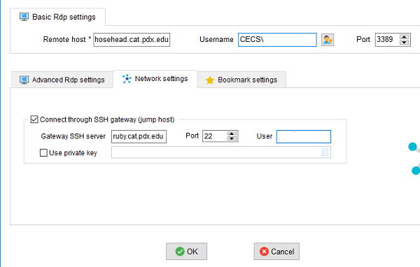 Remote Desktop using SSH Tunnel with MobaXterm – Computer Action Team