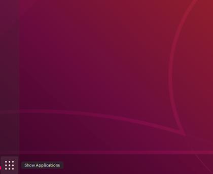 Image of gnome shell start menu