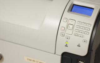 stock image of fab 55-17 printer