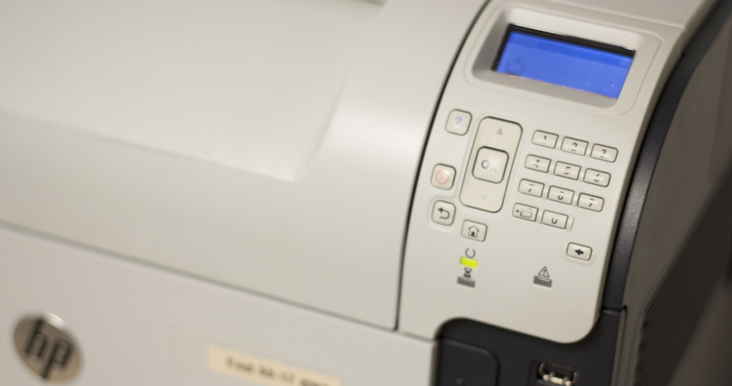 stock image of fab 55-17 printer