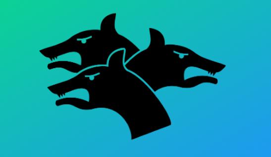 image showing stylized kerberos logo