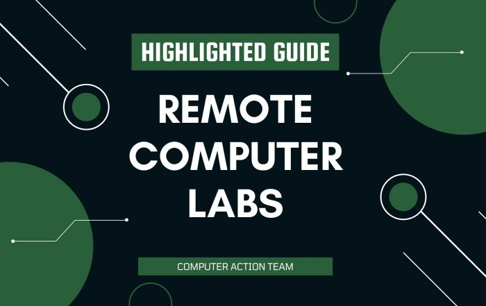Remote Computer Labs Highlighted Guide