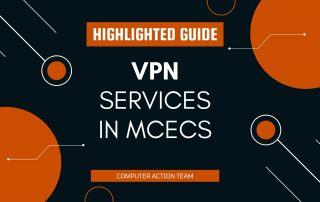 VPN services in mcecs Highlighted Guide